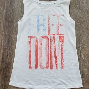 Freedom muscle tank